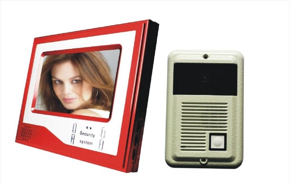 7 LCD Video font b Door b font Phone Intercom Night Vision HD font b Camera