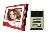 """7 """" LCD Video de la puerta teléfono Intercom visión nocturna grabación de la cámara HD función"""