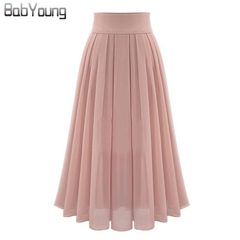 Popular Long Pleated Maxi Skirt-Buy Cheap Long Pleated Maxi Skirt ...