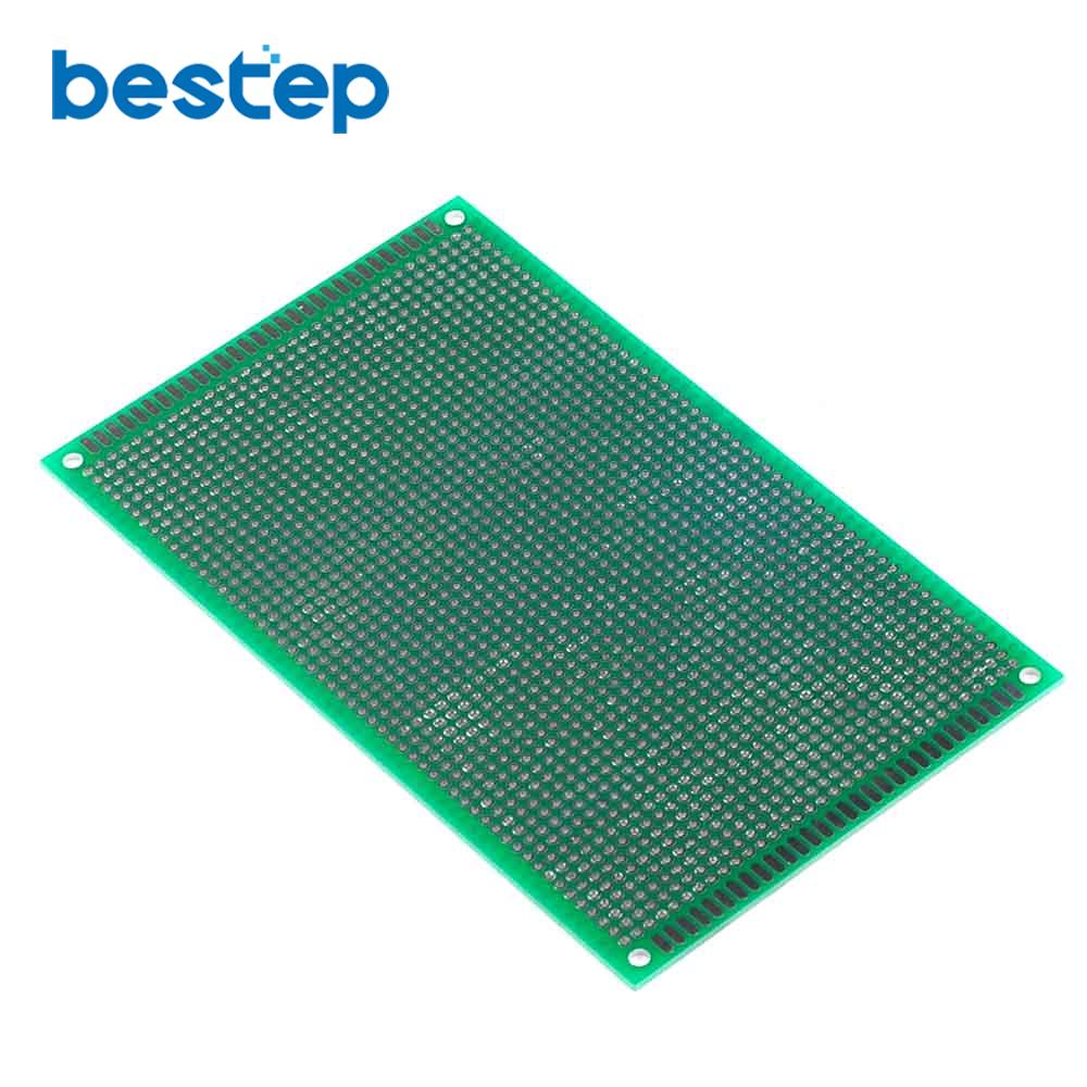 10PCS 9*15cm Double Side Prototype PCB Tinned Universal Breadboard 9x15cm Top Sale