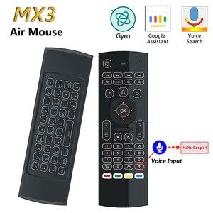 MX3 voice Air Mouse T3 Google