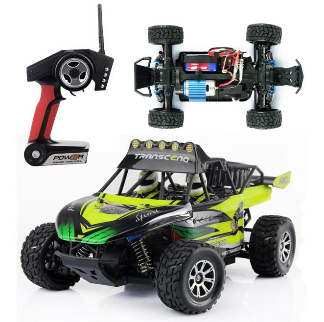 New Arrivial WLtoys K929 1:18 Remote Desert Off-road Vehicle High-Speed 4WD RC Racing Car 50km/h 2.4GHz Remote Control Truck wltoys k929 1 18 2 4ghz 4 channel high speed remote control racing car model toy green