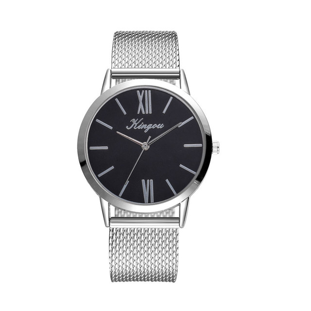 Rose Gold Sliver Mesh Stainless Steel Dail Watches Women Top Brand Luxury Casual Clock Ladies Wrist Watch Relogio Feminino &Ff