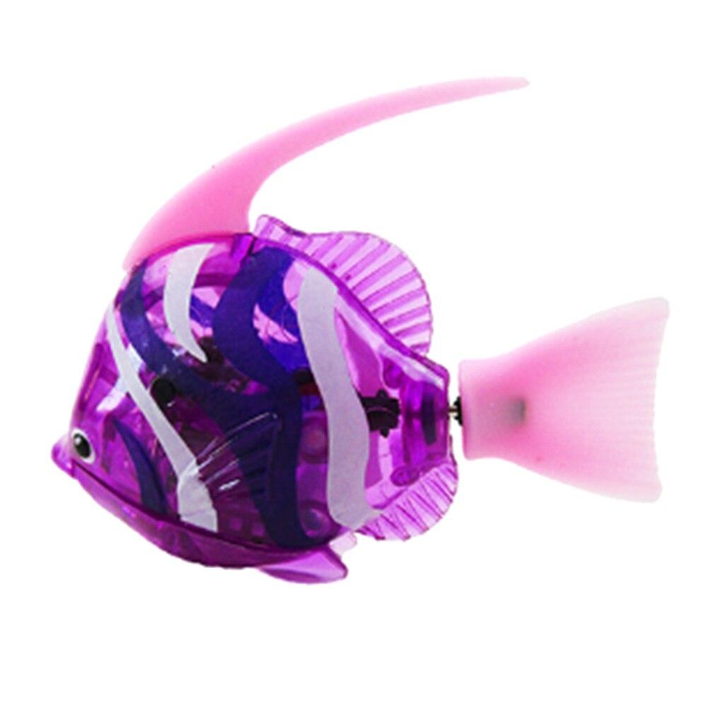 Electric flash swim fish magical music with light machine sensation fish swim pet clown fish