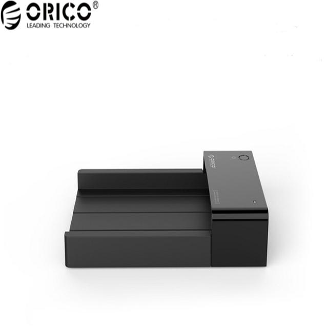 Material Plástico ABS Original ORICO Caja de Disco Duro USB 3.0 Caja de Disco Duro Compatible con 2.5 y 3.5 Pulgadas HDD/SSD