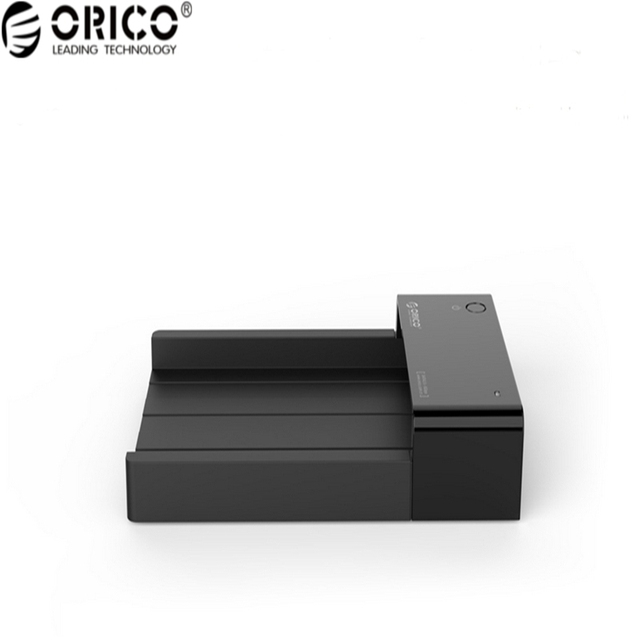Original ORICO ABS Plastic Material Hard Disk Drive Enclosure USB 3.0 Hard Disk Box Compatible with 2.5 & 3.5 Inch HDD/SSD