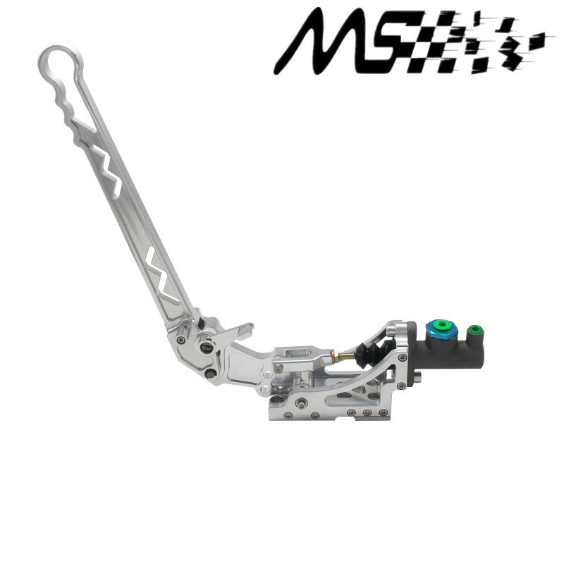 Universal Adjustable Aluminum Vertical Hydraulic Drifting Hand Brake With Special Master Cylinder S14 S13 silver neo chrome adjustable e brake hydraulic drift racing handbrake hand brake vertical horizontal s14 ae86