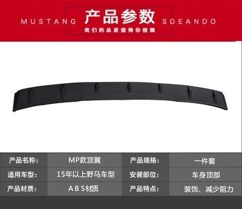 Cocok untuk Ford Mustang 15-18 Top Wing Air Panduan Spoiler Tanpa Perforasi Tail Fin Spoiler