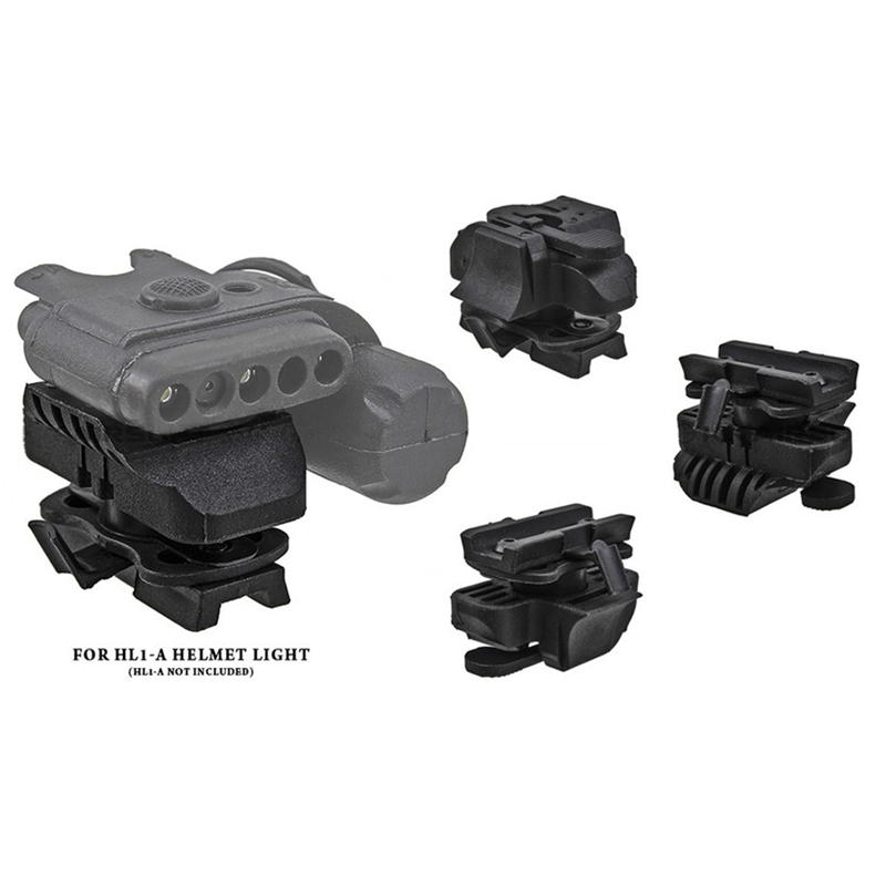 Emerson HL1-A Helmet Light Mount For FAST Helmet (Dark Earth BK) bd8850a