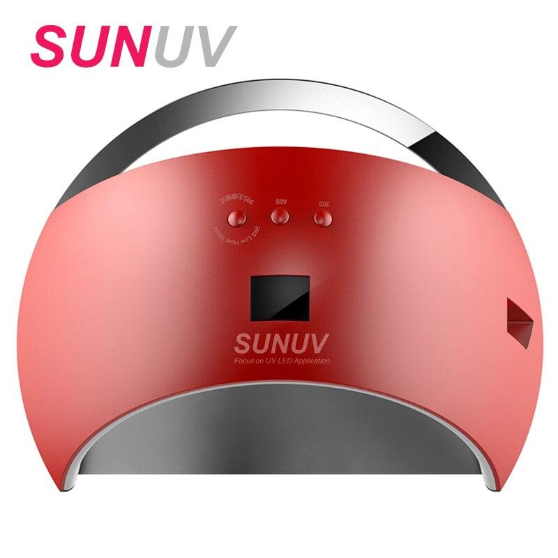 SUNUV SUN6 LED Nail Lamp Nail Dryer UV Light Lamp For Curing UV LED Gel Smart Manicure Nail Polish Gel