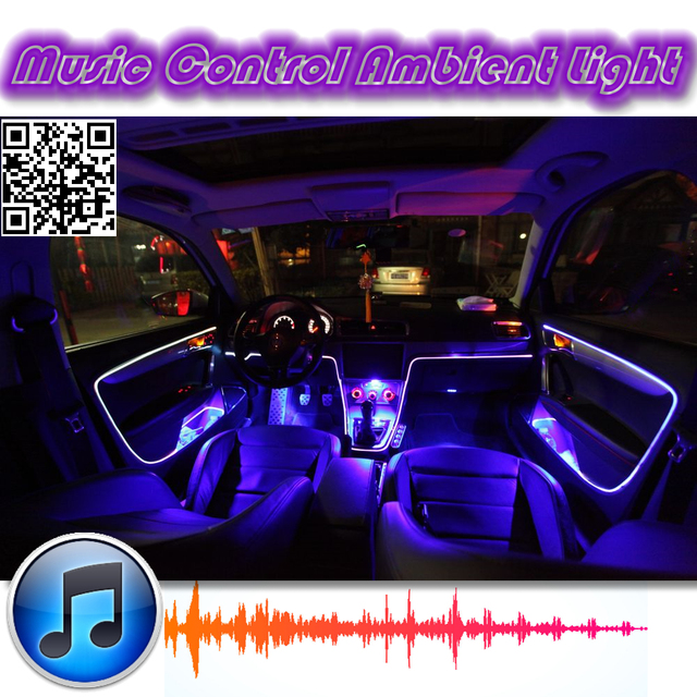 Ambient Rhythm Light For Mazda RX 8 RX8 RX 8 Tuning Interior Music