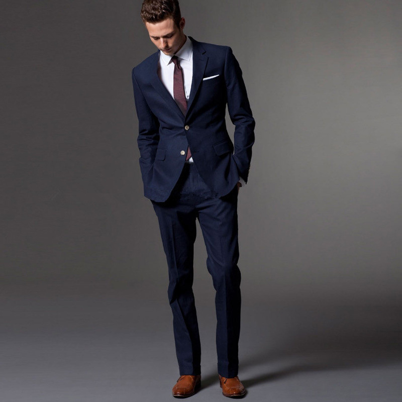 Popular Bespoke Tailored Suits-Buy Cheap Bespoke Tailored Suits