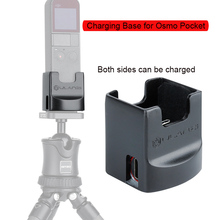 Charging Base for Osmo Pocket with Expansion Board Module Base Holder Fixed Mount 1/4 Screw Osmo Pocket Accessories original simatic 6ed1055 1hb00 0ba0 logo dm8 24r expansion module 6ed1 055 1hb00 0ba0 2te 4 di 4 do 6ed10551hb000ba0 freeship