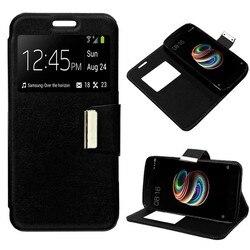 На Алиэкспресс купить чехол для смартфона stand case book lapel for alcatel 3l black