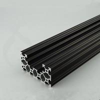 4080u alumínio perfil de extrusão padrão europeu comprimento 500mm industrial alumínio bancada 1 pces|Peças e acessórios em 3D|   -