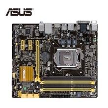LGA 1150 ASUS B85M-G материнская плата M-ATX B85M-G системная плата B85M DDR3 для Intel B85 32 Гб настольных USB 3 SATA3 B85MG б/у