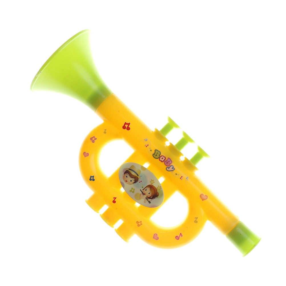 1 piezas colorido bebé juguetes musicales instrumentos musicales para niños trompeta bebé juguetes de música juguete educación temprana