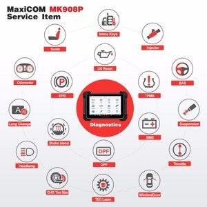 Image 3 - Autel MaxiCOM MK908P OBD2 автомобильный диагностический инструмент 12 языков J2534 Программирование ECU тестер кодирование PK MS908 PRO MS908P OBD 2 сканер