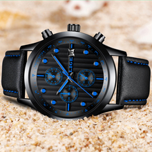 Watch LIGE Luxury Men's Waterproof LIGE9828