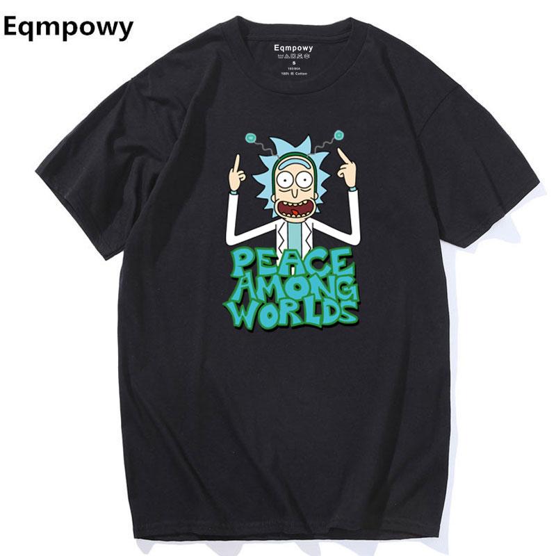 2017 Sommer Ny Anime Cool Rick Morty Print Mænd T Shirt Fred Bland - Herretøj - Foto 3