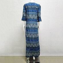 Chic Brand Clothing Boho Dress Women  Bohemian Long Dress Women  Print Maxi  Dress