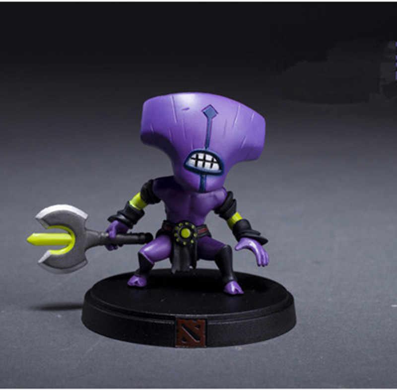 1 pçs presente quente coleção dota colecionador 2 jogo figura slark vs tiny doom encaixotado requintado pvc figuras de ação coleção dota2 brinquedos