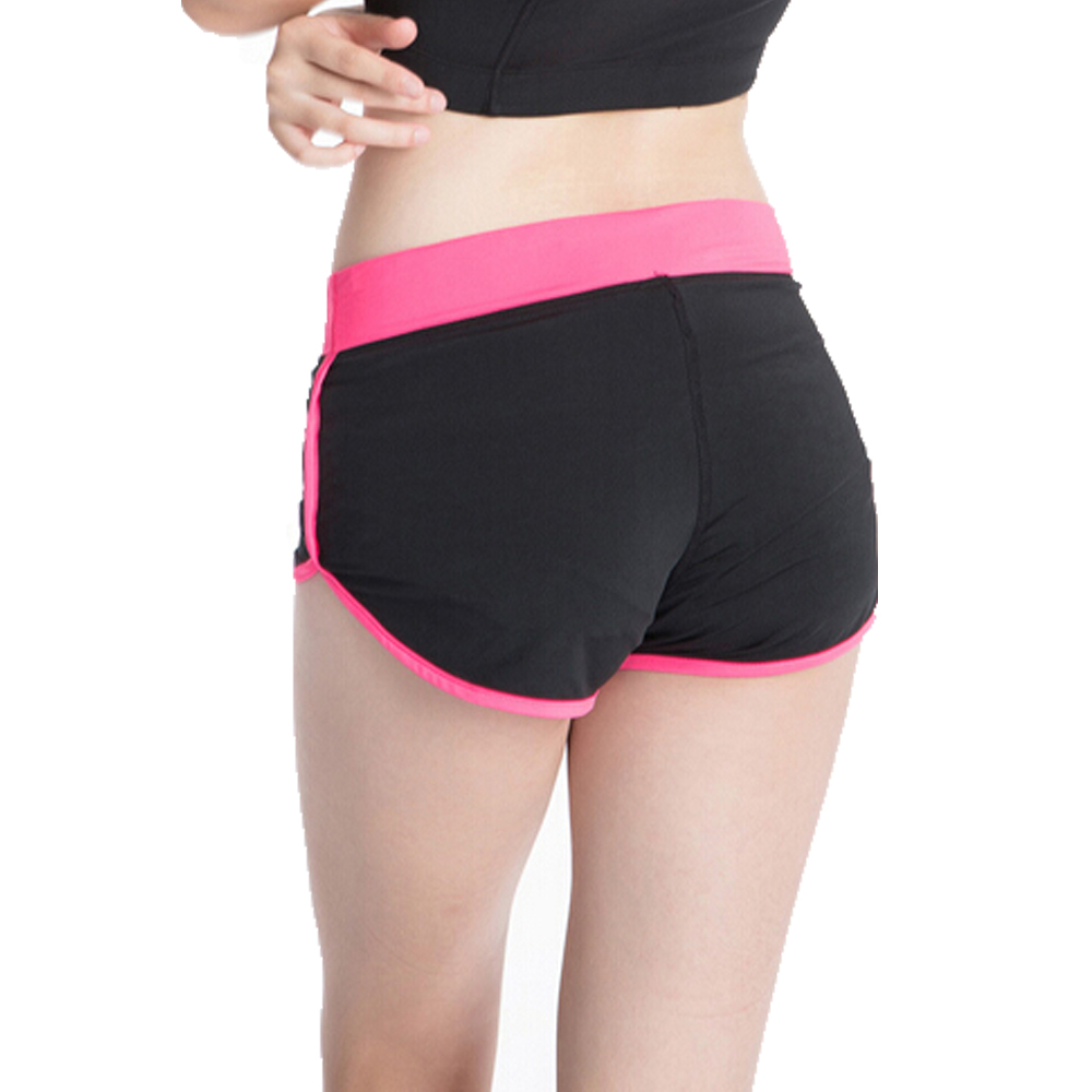 woman font b fitness b font sports training shorts dry female stretch running short pants sexy