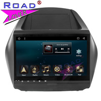 TOPNAVI 2G 32GB Android 7 1 Octa Core 10 1Inch Car Media Center Player For Hyundai