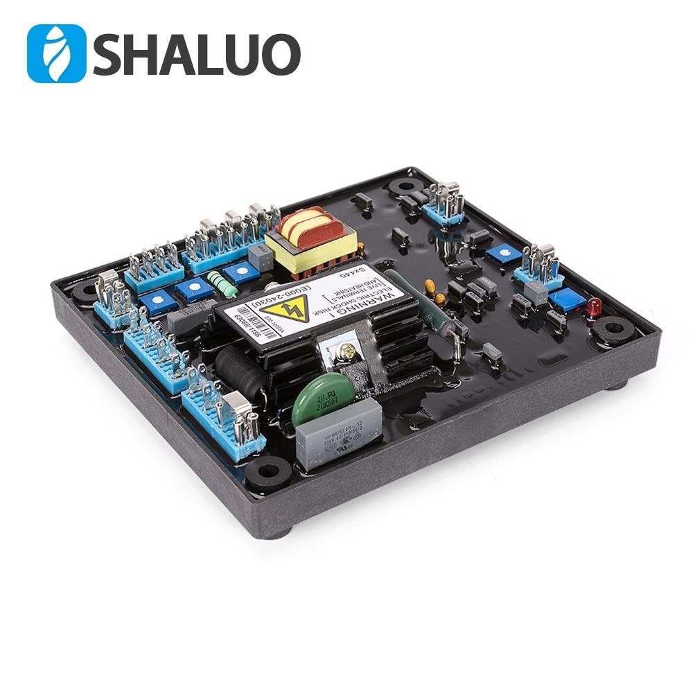 цена на SX440 Generator Automatic Voltage Regulator Alternator parts Three phase Diesel Voltage Steady Controller Phase Stabilizer