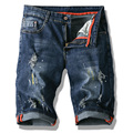 Men's cotton thin denim shorts New fashion summer male Casual short jeans Soft and comfortable casual shorts Size 28-40