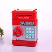 ATM Bank Mini Money Box Safety Electronic Password Chewing Coins Cash Deposit Machine for Children Gift