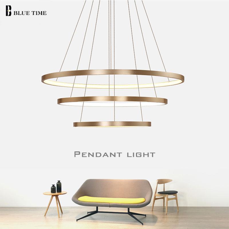 Dritat LED me 3 unaza rrethi LED Dritat e thjeshta varëse për - Ndriçimit të brendshëm - Foto 2
