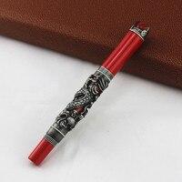 1 шт. Jinhao китайские традиционные хрустальные драконы 0,5 мм авторучка Изысканная перо роскошный бизнес офис подарочные ручки для сбора