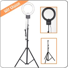 40W 5400K Studio Fluorescent  Ring Light with 200CM Stand Kit for Photography Camera Phone Photo Make Up Selfie