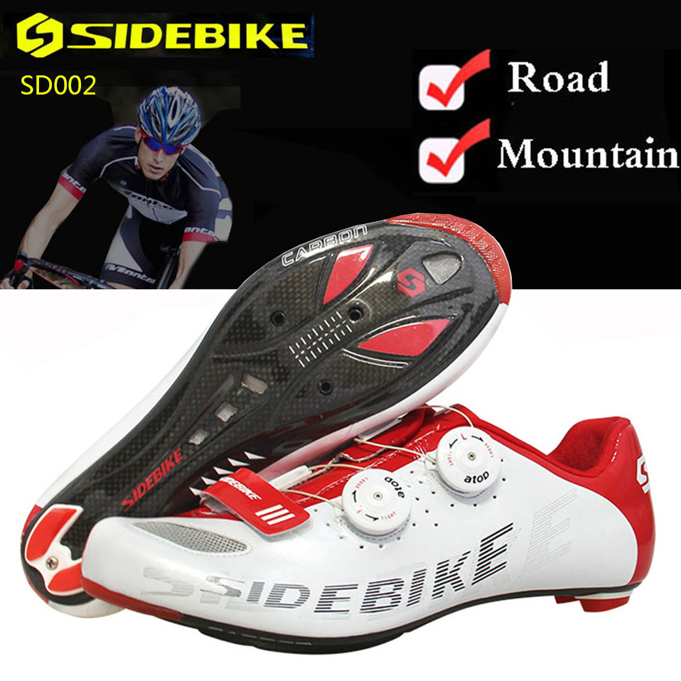Cycling Shoes Men Women Bicycle Shoes Super Carbon Fiber Outside Non-slip MTB Breathable SPD Mountain Road Auto-lock Bike Shoes стоимость
