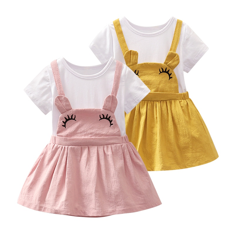 High Quality Baby Girls Summer Fashion Short Sleeve