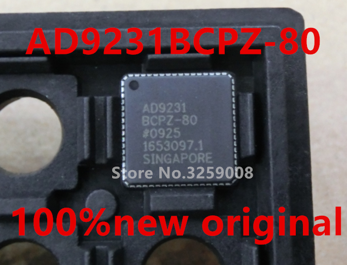 все цены на AD9231BCPZ-80 100% new imported original 1PCS онлайн