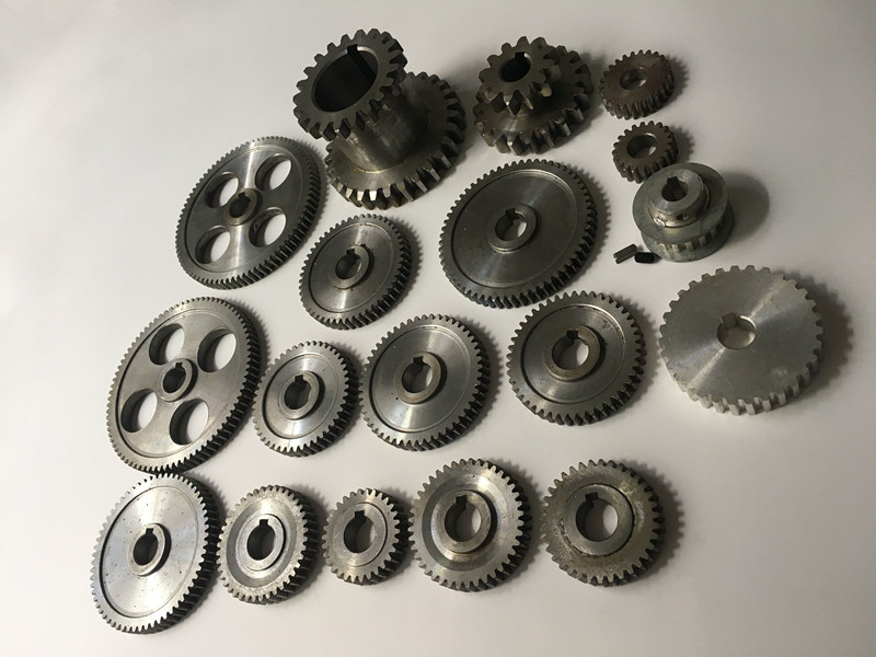 Купить с кэшбэком Freeshipping 18pcs/set mini lathe gears , Metal Cutting Machine gears , lathe gears