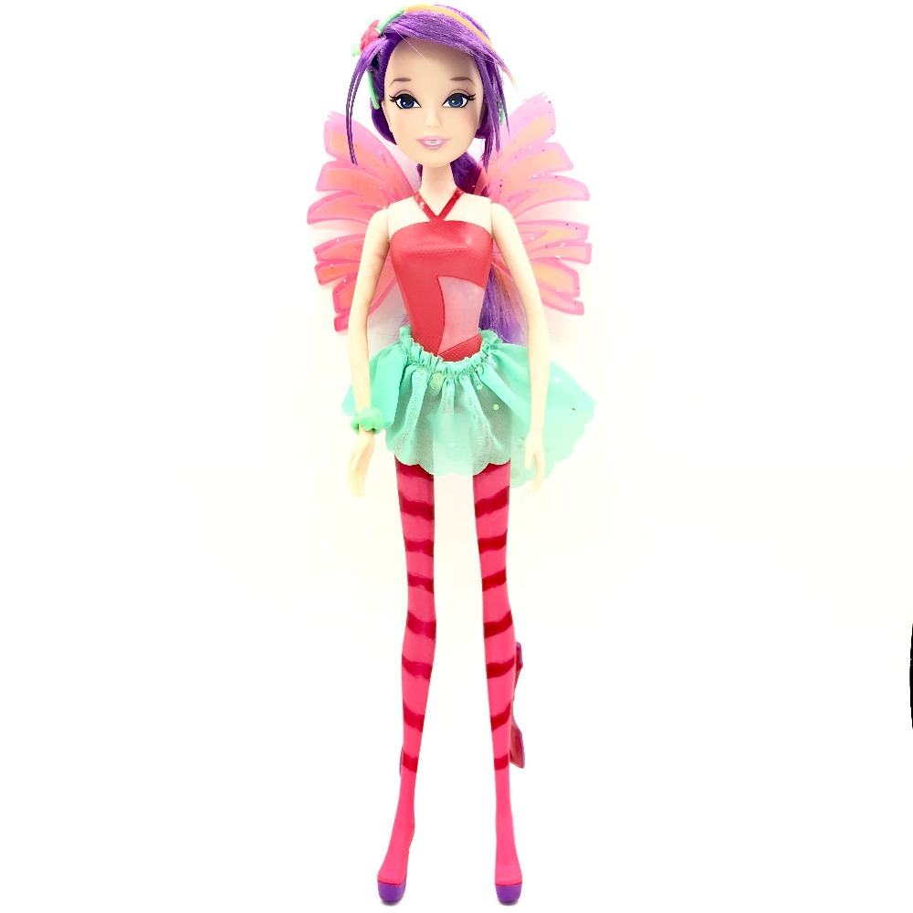 Colorful girl Winx Club Doll Beautiful girl Action Figures Winx Dolls with Exquisite Wing Classic Toys For Girls Christmas Gift