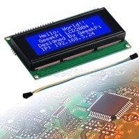 IIC/I2C 2004 20x4 Visor do Módulo de Caráter LCD  compatível com Raspberry Pi de Banana/Banana Pi/Tinker Board/STM32/ESP32