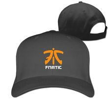 Dota2 CSGO LOL Champion FN Game Team Fnatic Print Mens Womens Baseball Cap  Adjustable Unisex Couple cf2a1fed6337