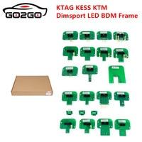 22pcs BDM adapters KTAG KESS KTM Dimsport BDM Probe Adapters Full Set LED BDM FrameECU RAMP Adapter Steel LED BDM Frame Stainle