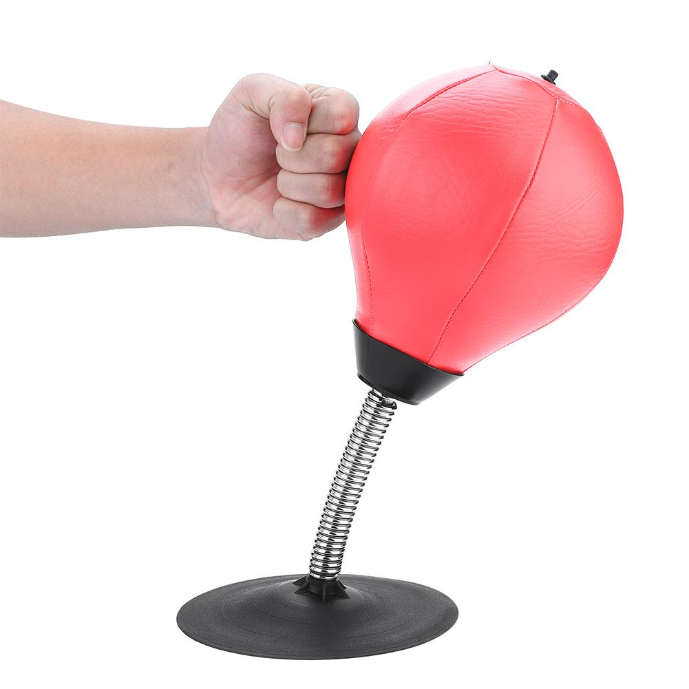 Suction Cup Boxing Vent Ball Desktop Punching Bag Mini Punch Sports Fitness Punching Bag Speed Balls