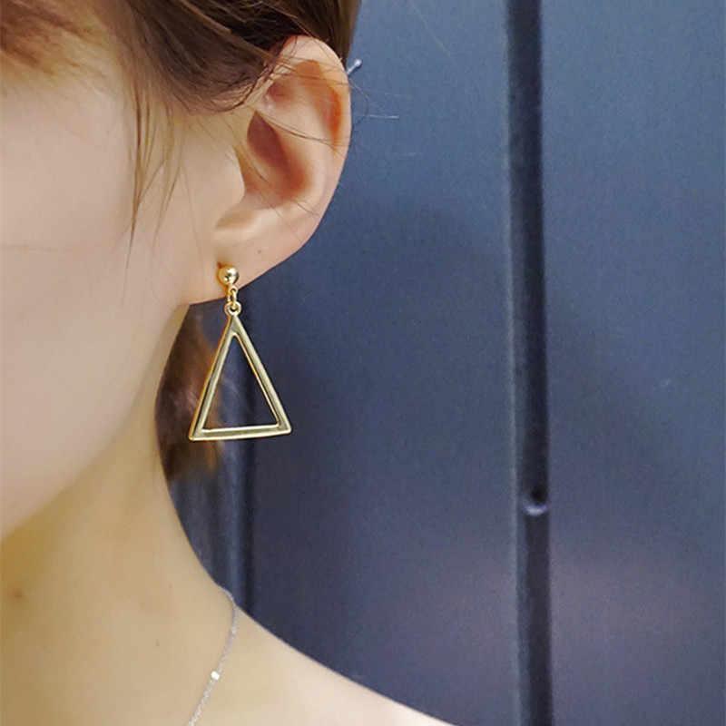 Modern Women's Earrings 2018 Asymmetry Long Tassel Women Dangle Earrings Korean Fashion Refreshing Female Jewelry Accessories