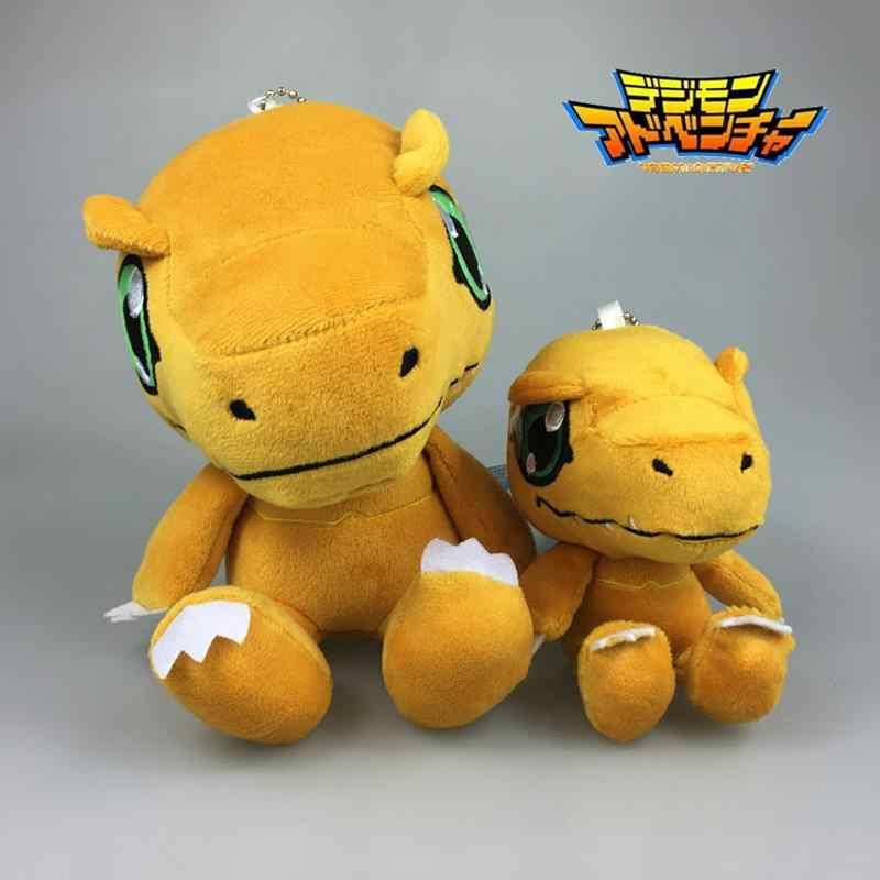 f29e5571129 Digimon Agumon Plush 10cm 18cm Anime Digimon Adventure YAGAMI TAICHI Agumon  Plush Stuffed Toys Doll