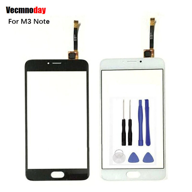 """Vecmnoday 5.5""""For Meizu M3 Note Touch Screen Digitizer Front Glass Replacement For Meizu M3 Note Sensor Touchscreen Lens + Tools"""