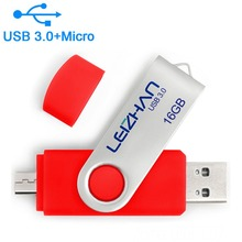 Pen-Drive 64GB Memory-Stick U-Disk Android-Phone Micro 16GB Cle 8GB Usb-3.0 Leizhan 32GB