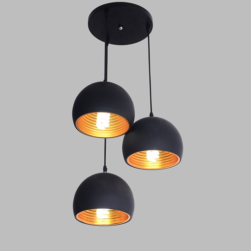 Modern Northern Europe Creative Concise Noble Black Pendant Lamp Restaurant Bedroom Livingroom Decoration Lamp Free Shipping northern europe modern creative concise style pendant light living room bedroom study decoration light free shipping