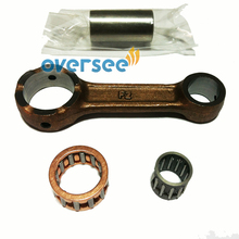 6G1-11651-01-00 Connecting rod kit For Yamaha 8HP Outboard boat Engine motor brand new aftermarket parts
