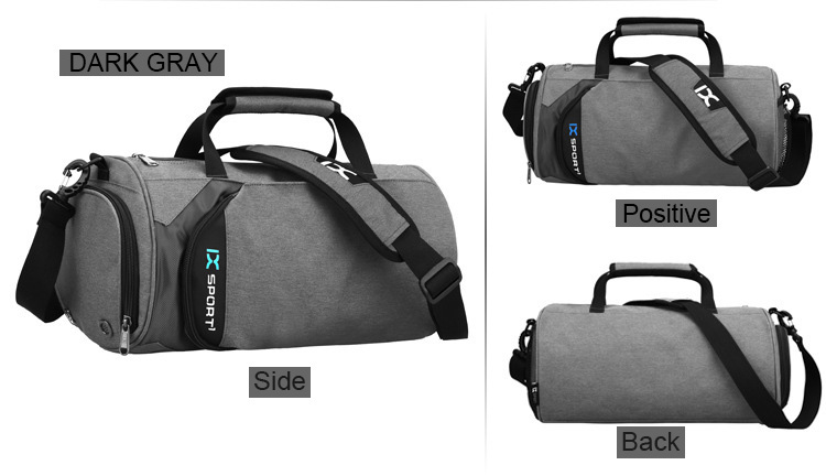 Sport Gym Bag Outdoor Waterproof Women Big Tote Bag School Fitness ... 8ae403cad3678